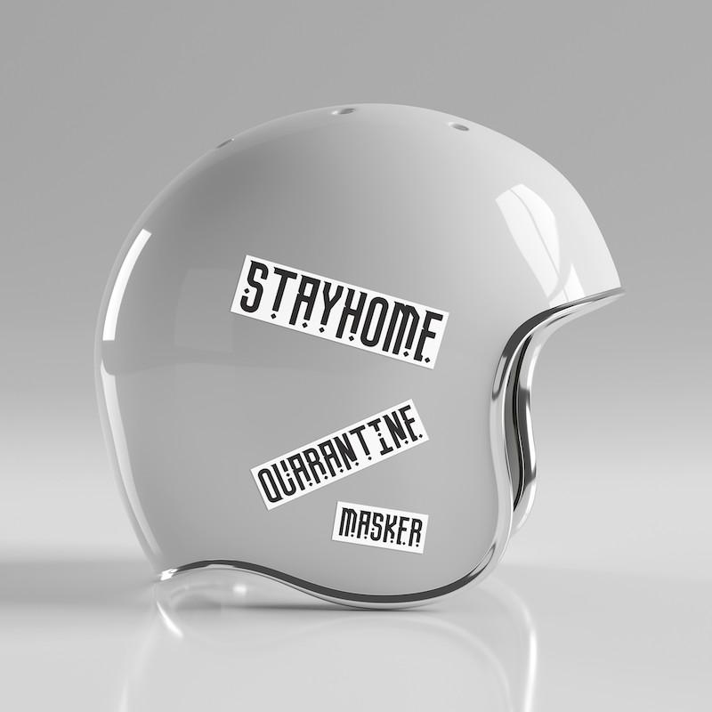 Quarantine - Single Sticker hình dán lẻ