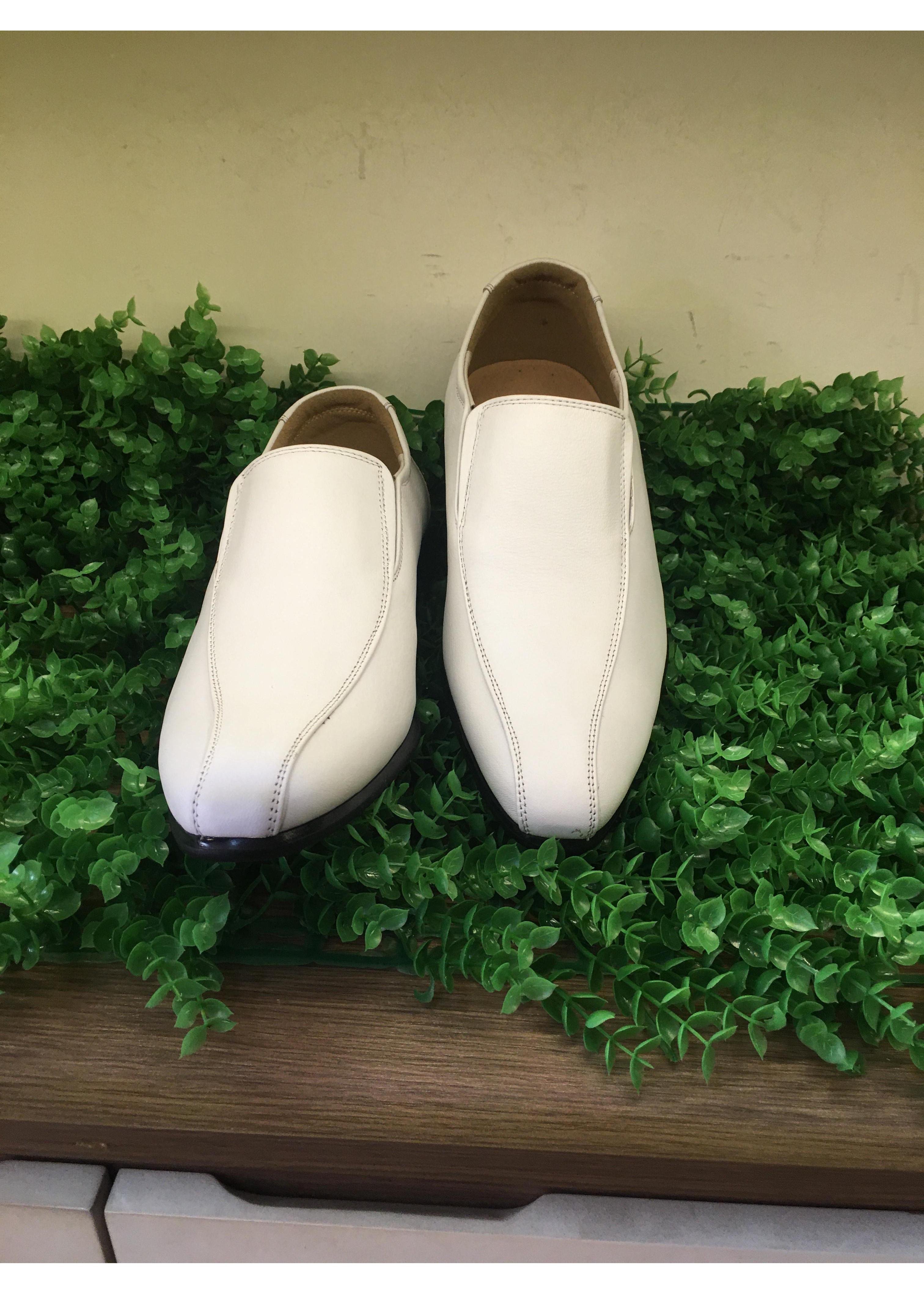Giày tây nam trắng  -T014