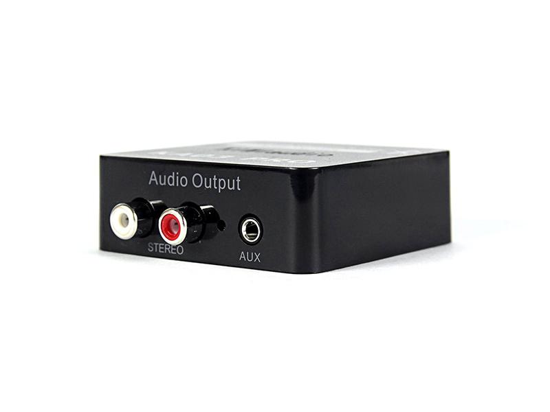 Bộ chuyển đổi âm thanh Optical to AV Công Suất Lớn, Có Cổng Out L/R và 3.5mm Kiwi KA03 Audio - Hàng Chính Hãng