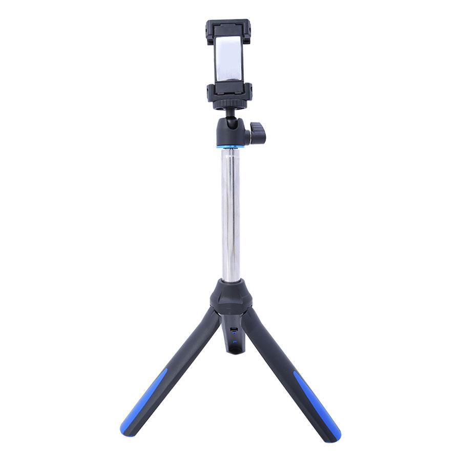 Gậy Selfie Chụp Hình Tự Sướng Tích Hợp Tripod Benro MK10 Hỗ Trợ Bluetooth 3.0 (Xanh Dương) - Hàng chính hãng