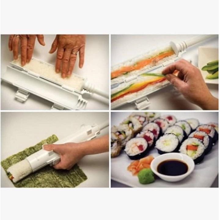 Hộp khuôn làm sushi siêu nhanh