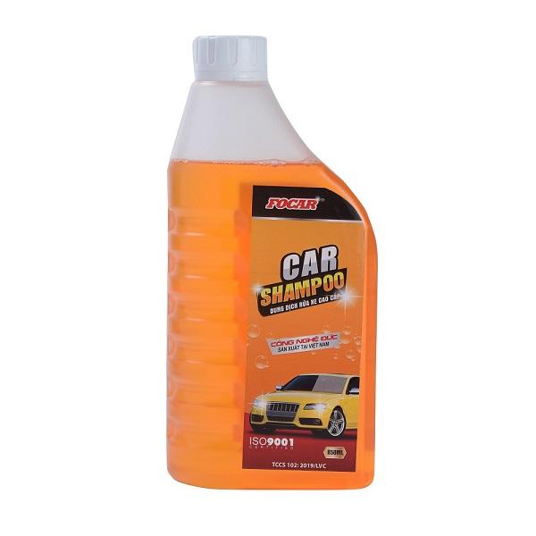 Nước rửa xe FOCAR  Shampoo 0,85L (tỷ lệ pha 1:150-1:200) - Tặng khăn lau xe