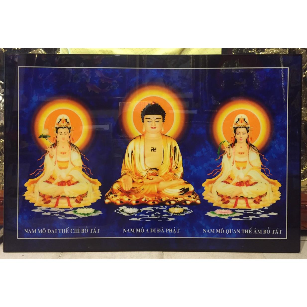 Tranh phong thủy, Tam thế Phật