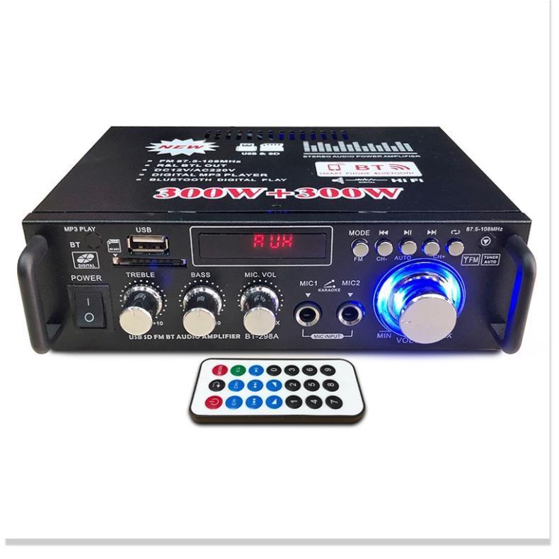 ️ Amly Karaoke Mini Bluetooth BT-298A Cao Cấp Chuyên Nghe Nhạc, Công Suất Lớn, Chức Năng Đa Dạng