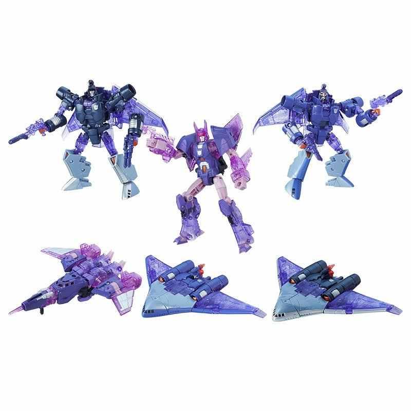 Bộ mô hình gồm 3 Robot mini Platinum Edition Armada of Cyclonus - Scourge - Decepticon Sweep