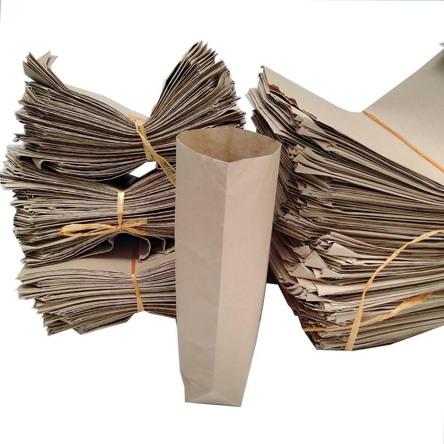 Bộ 100 Túi giấy xi măng cỡ 16x24cm dùng gói hàng hoặc đựng thực phẩm