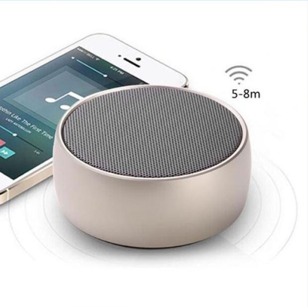 Loa Bluetooth Bọc Thép Mini BS01, Super Bass , Âm Thanh Mạnh, Cắm Được Thẻ Nhớ - Nhỏ Gọn - Tặng  Giá Đỡ Điện Thoại  - Màu ngẫu nhiên