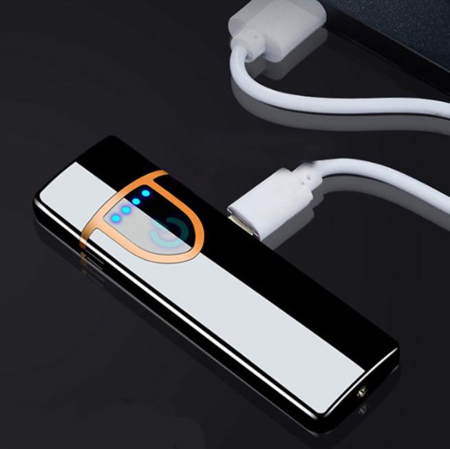 Bật lửa hộp quẹt sạc điện qua cổng USB (Giao màu ngẫu nhiên)