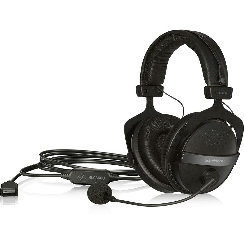 USB Stereo Headphones Behringer HLC660U-Hàng Chính Hãng