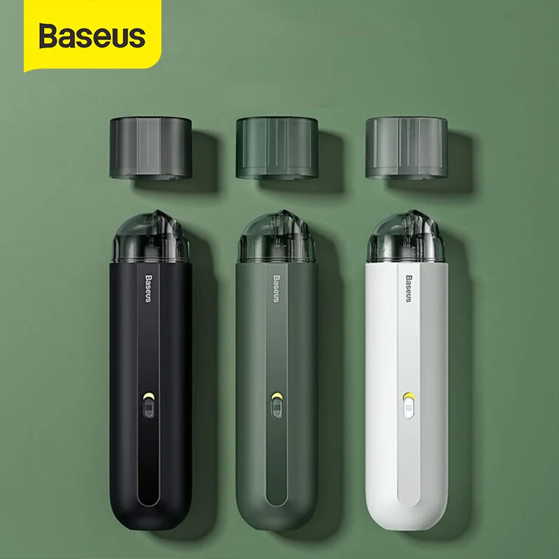 Hút Bụi Baseus A2 Car Vacuum Cleaner Mini Handheld Auto Vacuum Cleaner with 5000Pa Powerful Suction For Home Car Office