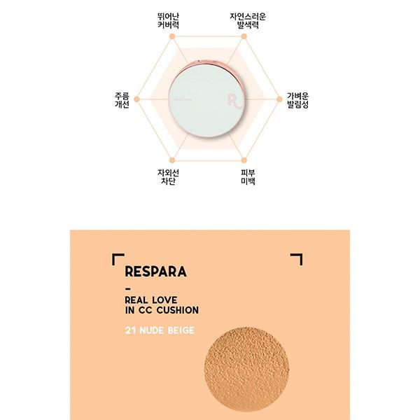 Phấn Nước RESPARA CC Cushion 5 Tác Dụng