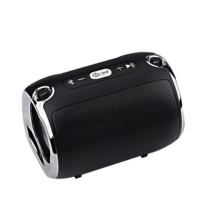 Loa Bluetooth gắn thẻ nhớ usb cho điện thoại, laptop PKCB-518 Đen
