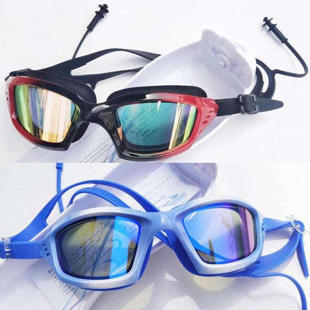 Kính Bơi Tráng Gương Dành Cho Người Lớn Và Trẻ Em HA-2006 Chống Nước, Sương Mù, Tia UV Bảo Vệ Tối Đa Đôi Mắt Của Bạn (Giao Màu Ngẫu Nhiên)