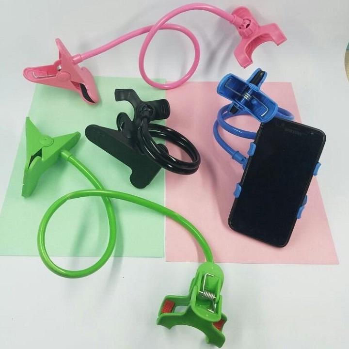 Kẹp đỡ điện thoại thông mình hình đuôi khỉ màu sắc đa dạng giao ngẫu nhiên