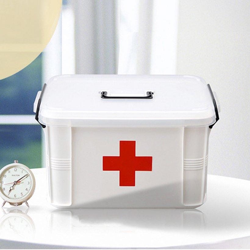 Hộp đựng thuốc y tế gia đình tiện ích HD (cỡ nhỏ)