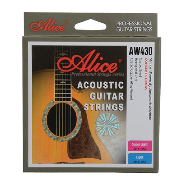 Dây đàn guitar acoustic Alice AW430(SOL.G)