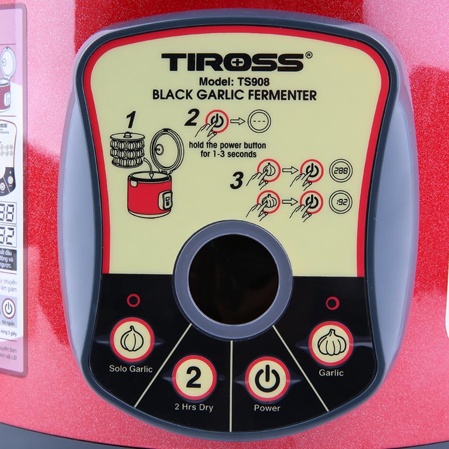 Máy Làm Tỏi Đen Tiross TS908 (6L) - Đỏ - Hàng chính hãng