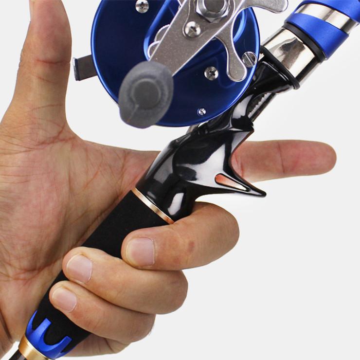 Cần câu lure 4 khúc máy ngang Blue Lightning 1.8m/ 2.1m/ 2.4m