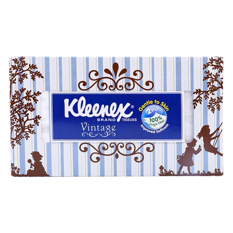 Giấy Hộp Kleenex Vintage (170 Tờ/Hộp) - Giao Mẫu Ngẫu Nhiên