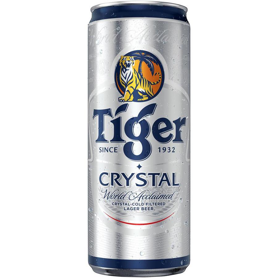 Hình ảnh Thùng 24 lon Tiger Crystal lon cao mới (330ml/lon)