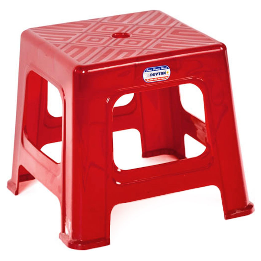 Combo 5 Ghế Lùn Sọc Duy Tân Tiện dụng (29 x 29 x 26 cm) No.246 – Màu ngẫu nhiên, dùng cho quán ăn vỉa hè hoặc ăn cơm cho cả gia đình