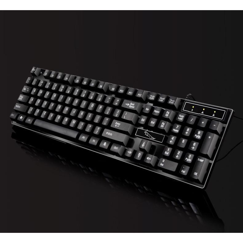 Bàn phím giả cơ chơi game Q17 ( Kèm lót chuột 200x240mm ) - Hàng nhập khẩu