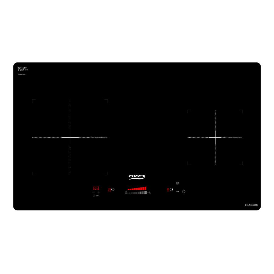 Bếp Âm Từ Đôi Chef's EH-DIH866N (72cm - 3400W) - Hàng Chính Hãng