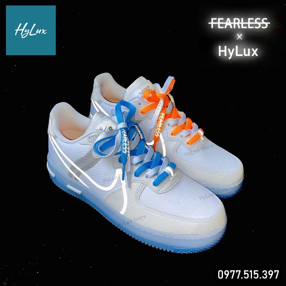 Dây Giày Nike Air Force 1 (AF1), Air Jordan, . . . - Chữ FEARLESS Phản Quang 25 màu (12 màu cuối)