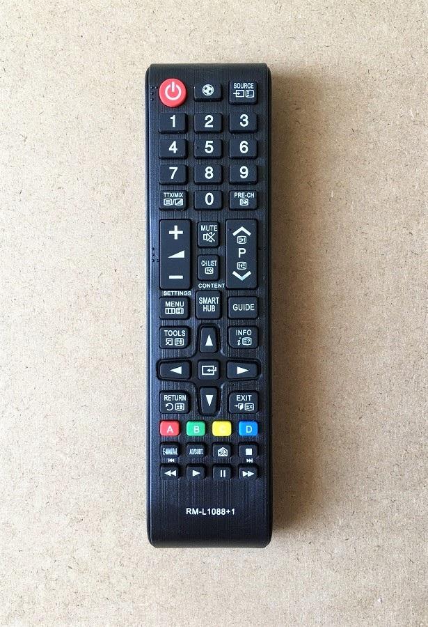 Remote Điều Khiển Dành Cho Smart TV, Internet Tivi, Ti Vi Thông Minh SAMSUNG RM-L1088+1 Grade A