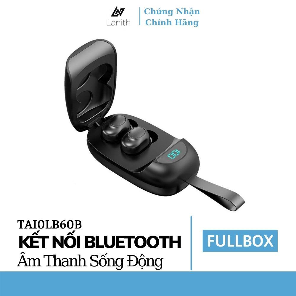 Tai nghe bluetooth không dây Lanith LB0060 – Kèm sạc dự phòng tiện lợi thời gian sử dụng lên tới 3h - Hàng nhập khẩu - TAI0LB60