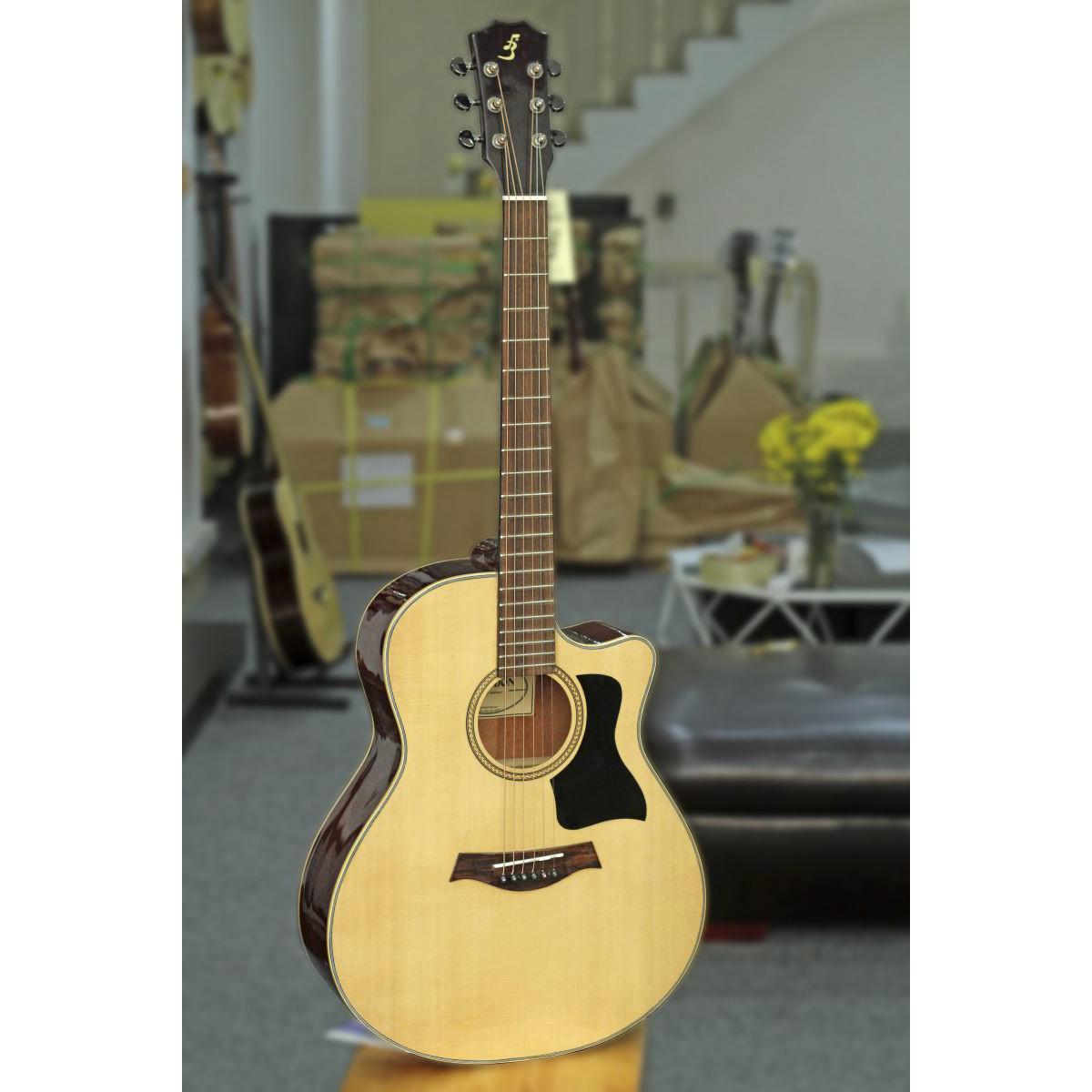 Đàn Guitar Acoustic T220 (Full solid)- Gỗ Thịt Nguyên Tấm
