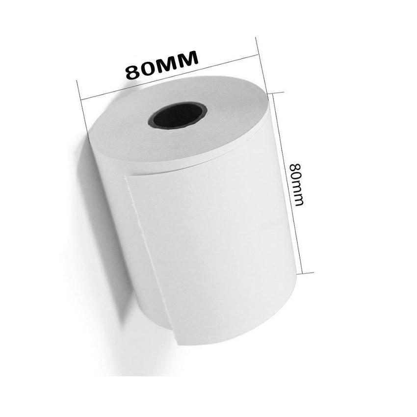 10 cuộn giấy in hóa đơn nhiệt k80 phi 80mm hansol