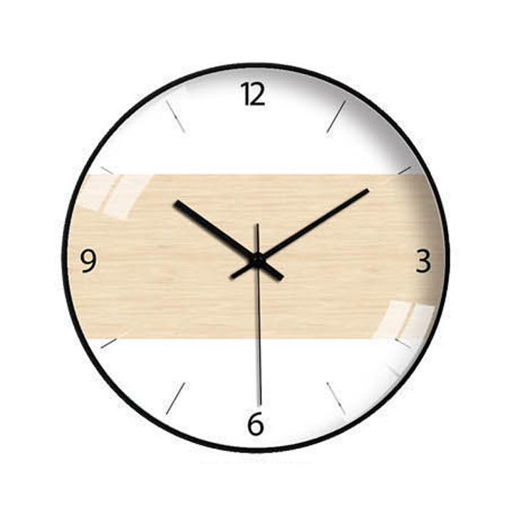 Đồng hồ treo tường kim trôi, đồng hồ RET013 (Giao màu ngẫu nhiên)