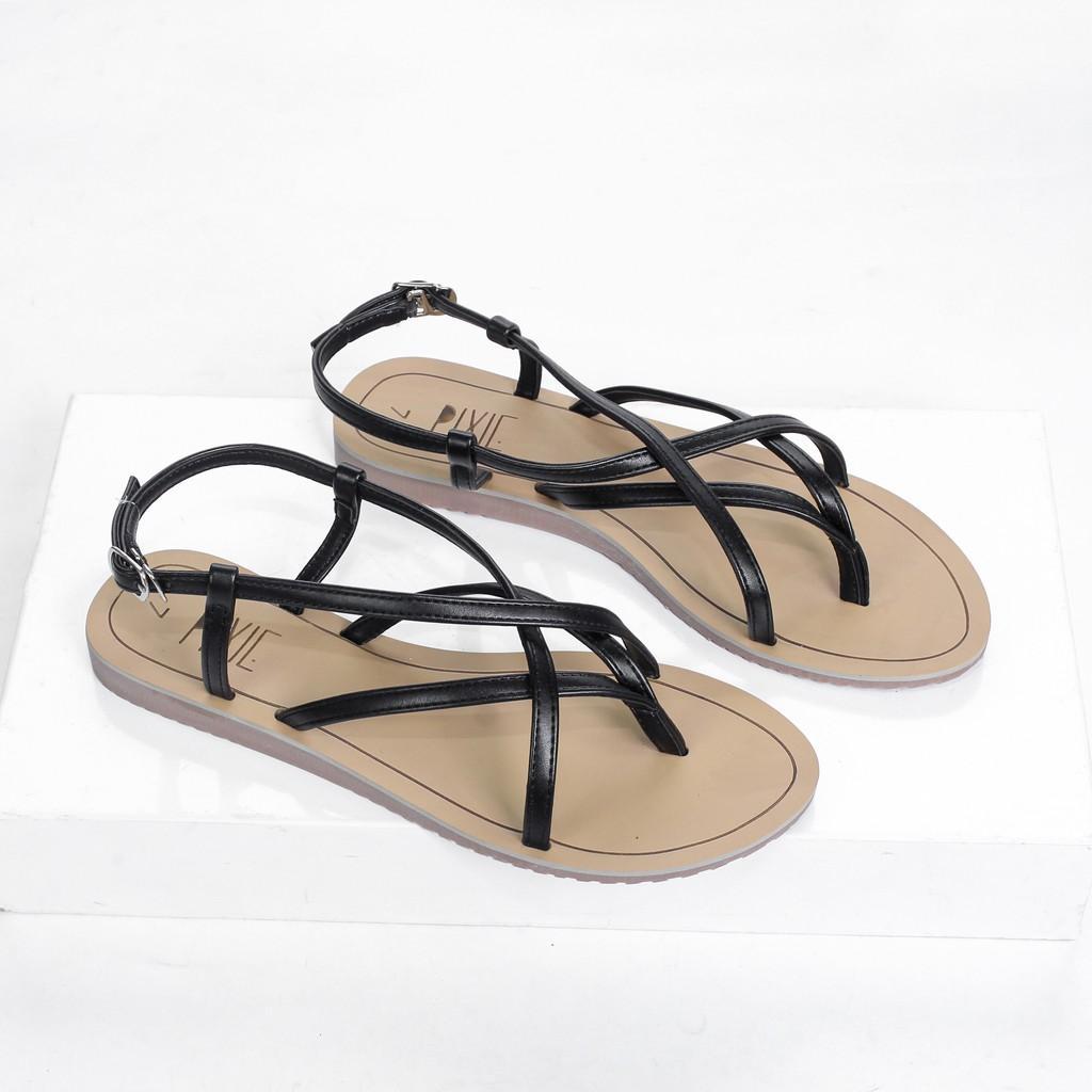 Giày Sandal Bệt Xỏ Ngón Pixie X497