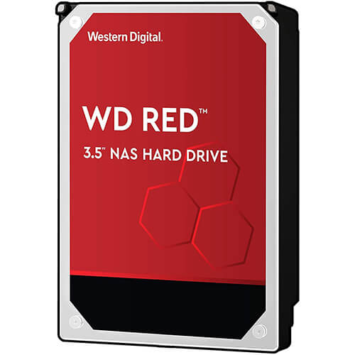 Ổ Cứng HDD WD Red 10TB 3.5 inch Sata III - Hàng Nhập Khẩu