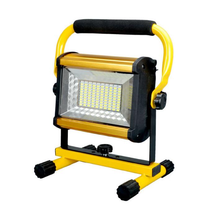 Đèn led siêu sáng sạc điện 100W W808 ( Đã kèm pin )