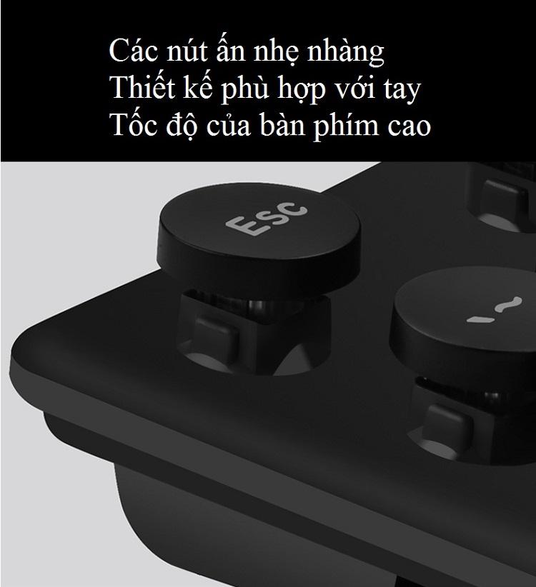 Bộ Bàn Phím và Chuột Không Dây Văn Phòng N520 - Hàng Nhập Khẩu