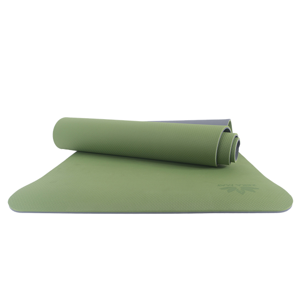 Thảm tập yoga trẻ em Happy Kid Zera TPE 2 lớp 6mm - Xanh lá