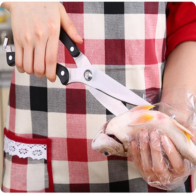 Kéo cắt thịt gà bằng thép không gỉ cao cấp vừa nhanh, gọn lại dễ sử dụng và dễ vệ sinh