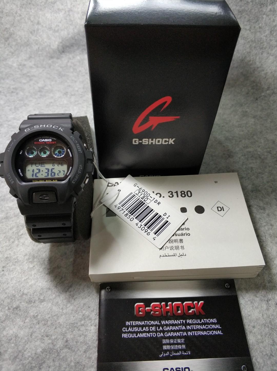 Đồng hồ nam dây nhựa Casio G-SHOCK G-6900-1DR