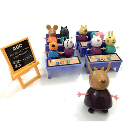 Bộ đồ chơi xếp hình Lớp học heo Peppa Pig