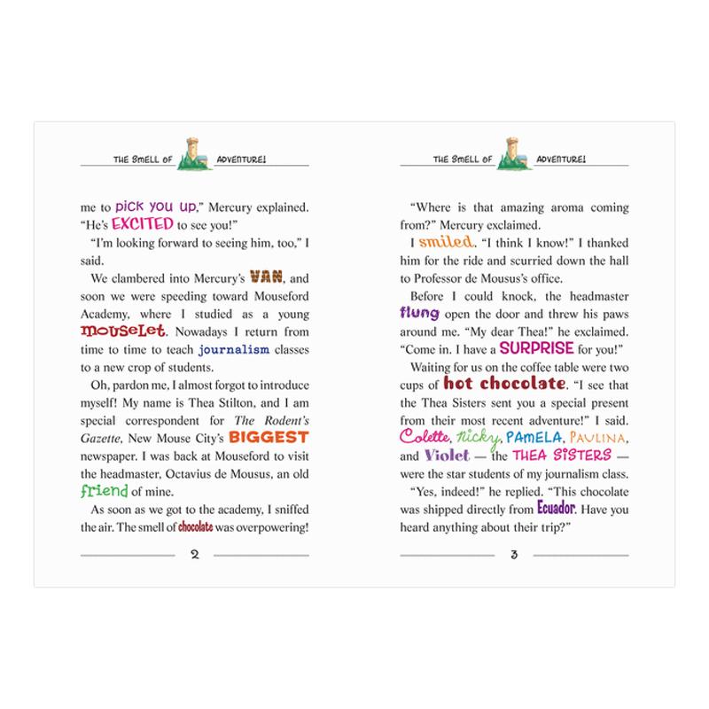Thea Stilton Book 19: Thea Stilton And The Chocolate Sabotage