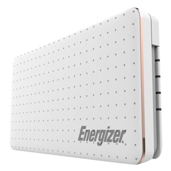 Pin Sạc Dự Phòng Energizer 10000 mAh XP10002CQWE - Trắng - Hàng chính hãng
