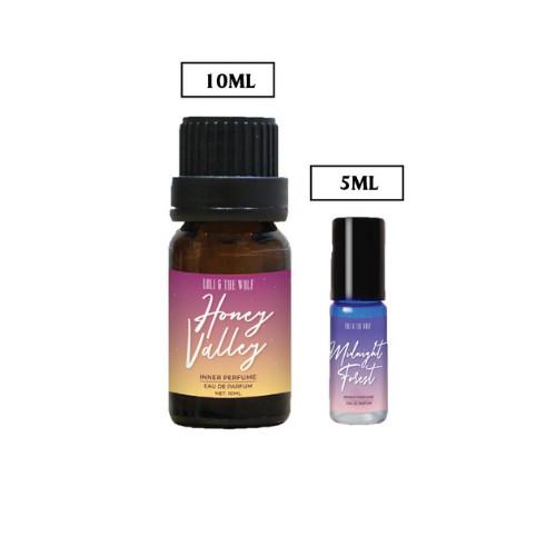 Combo Perfect Two dành cho nữ gồm 1 nước hoa vùng kín nữ chai 10ml + 1 chai lăn 5ml - LOLI & THE WOLF