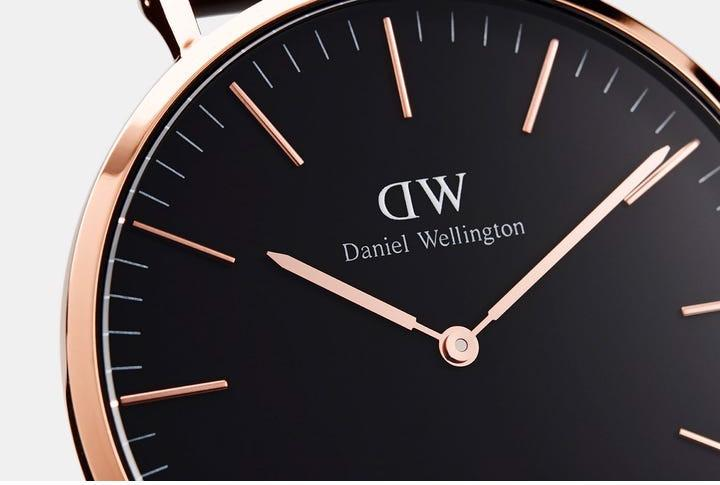 Daniel Wellington Classic Roselyn Silver Black 36mm DW00100273