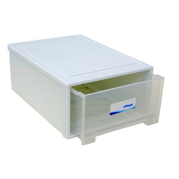 Hộp đựng đồ xếp tầng ngăn kéo nhựa PP đa năng cao cấp (Màu ngẫu nhiên)