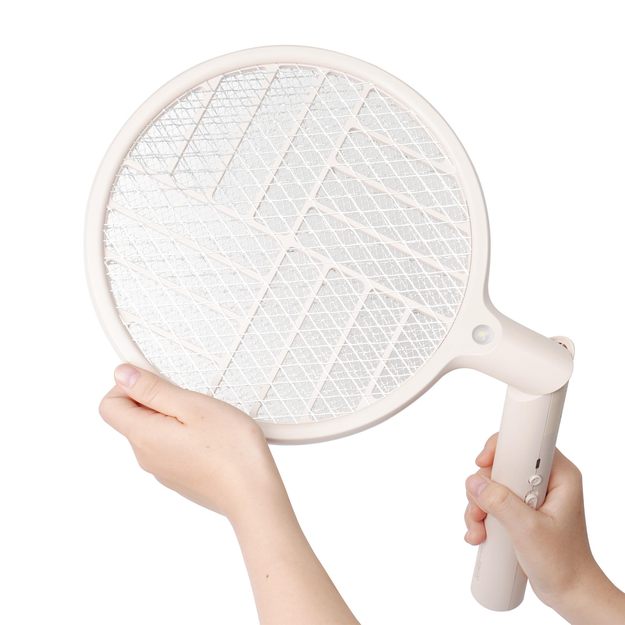 Vợt Bắt Muỗi Cầm Tay Tiện Lợi Với 3 Lớp Lưới Điện Dày, Diệt Muỗi Nhanh Chóng Và Hiệu Quả