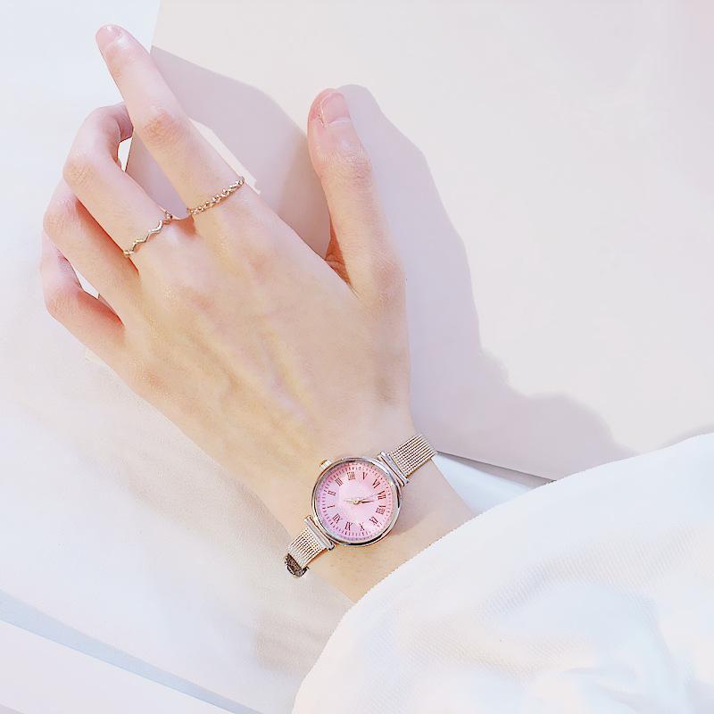 Đồng hồ nữ dây da thời thanh lịch cho các cô nàng công sở ZO41