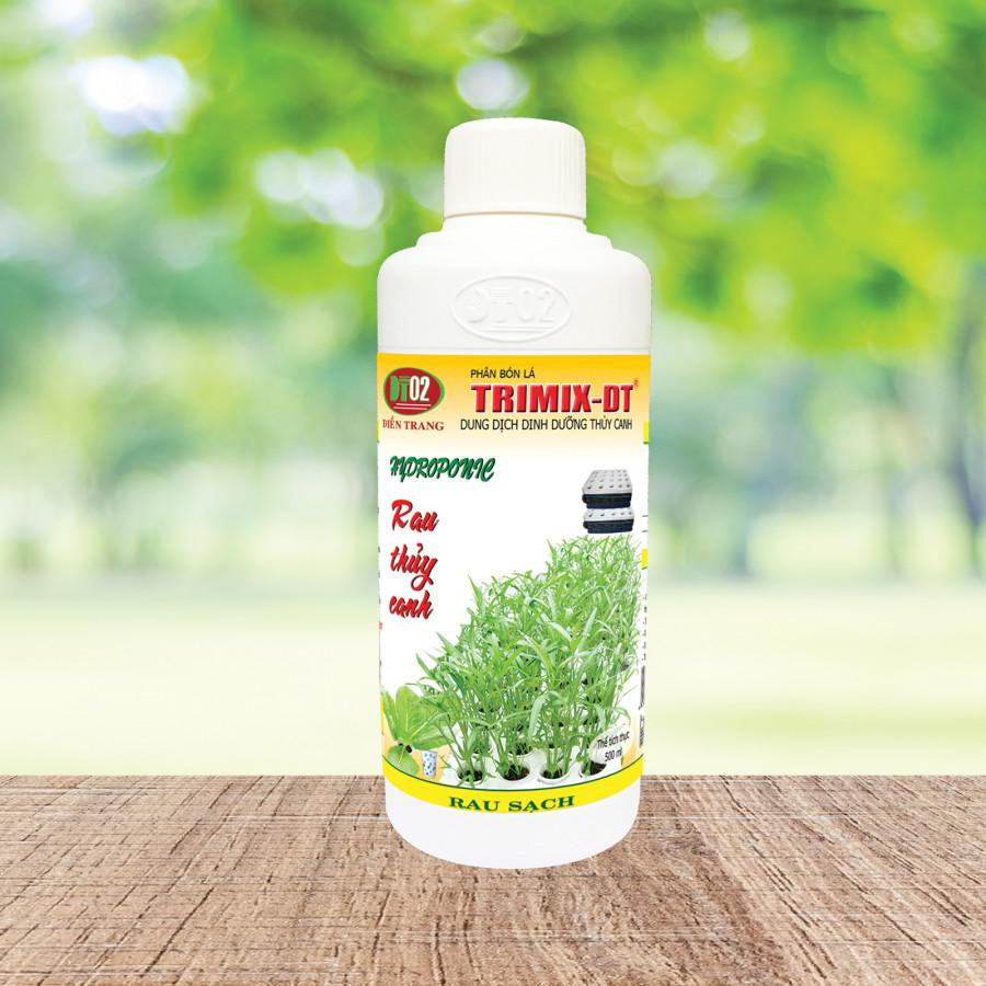 Combo 4 chai Dung dịch Thuỷ canh rau Trimix-DT 500ml