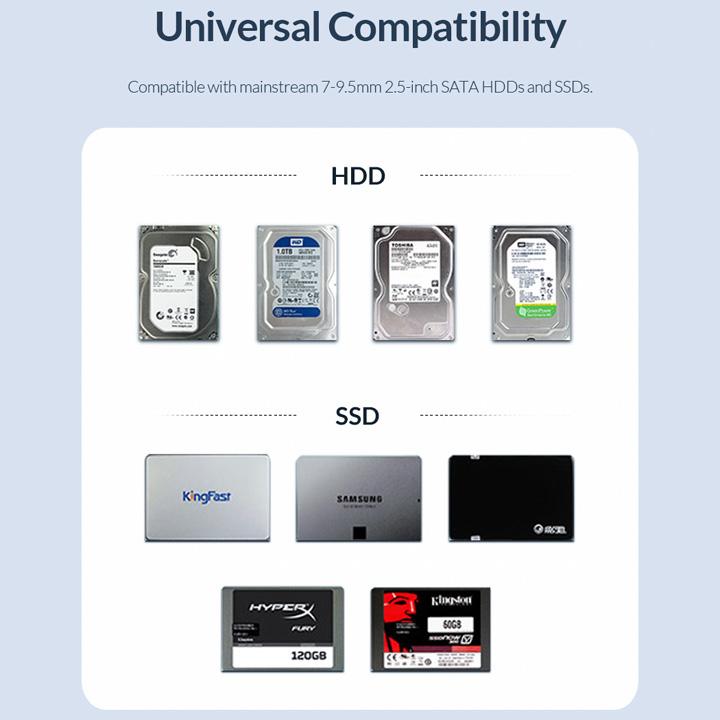 "Box ổ cứng 2.5"" SATA USB3.0 2521U3 - BX54"